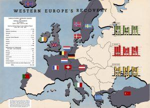 Marshall Plan Map at Mid-Mark