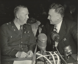 Marshall and Murphy at Pearl Harbor Hearings