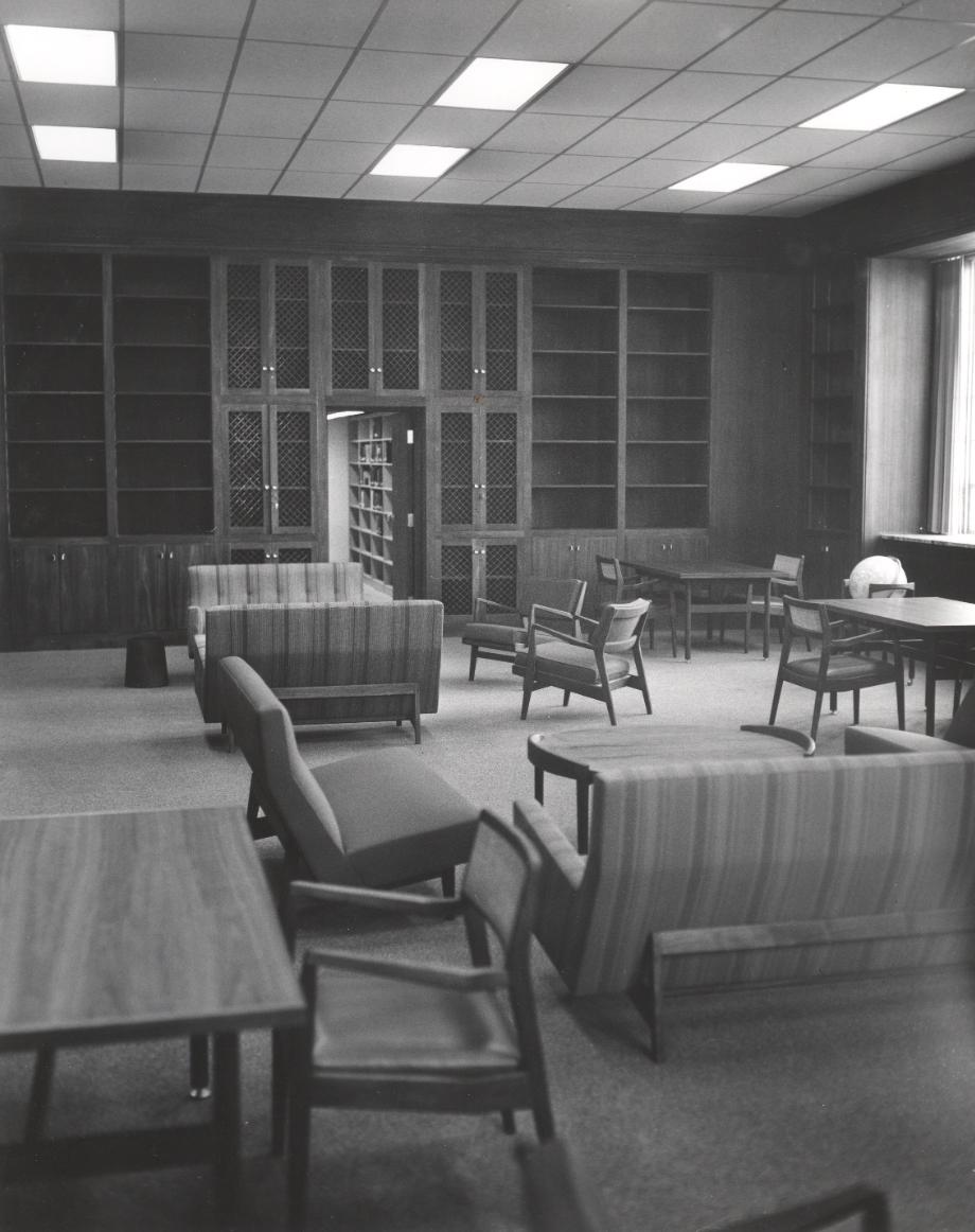 The library in 1964.